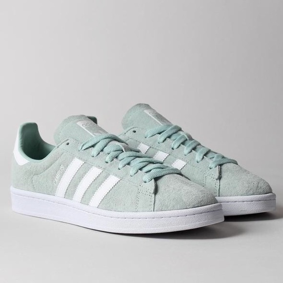 Adidas Classic Campus Shoes Ash Green